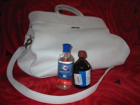 23867ad2a619 Чем можно почистить лаковую белую сумку? | kypi-symky.ru